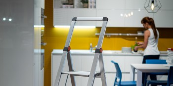 16 July 2020 - Slimstep, not just a stool, but elegance in pure aluminium.